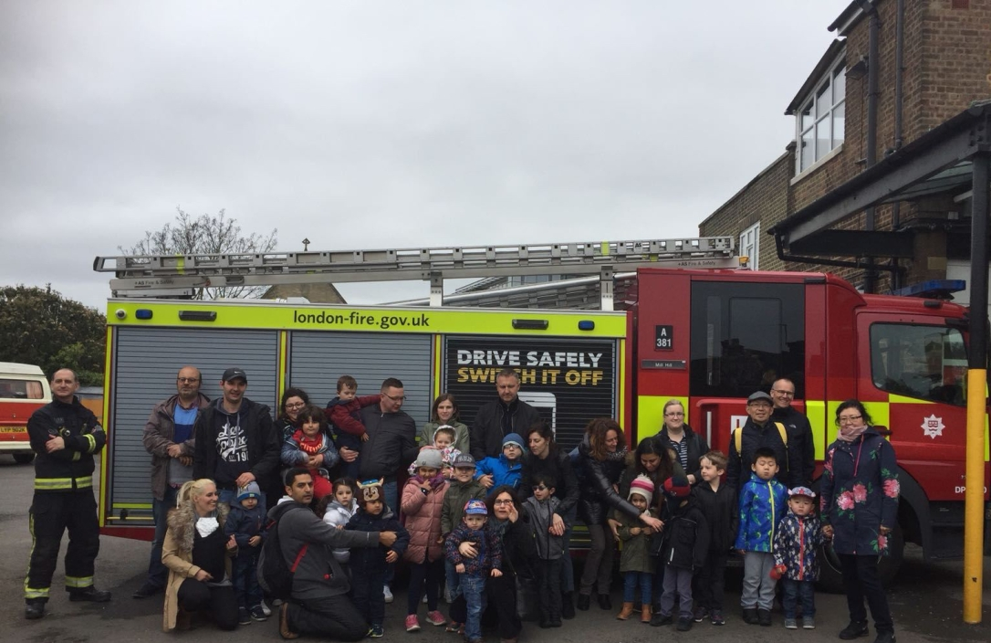 fire station visit 2018